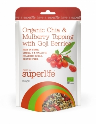 Superlife BIO Chia@Mulberry Topping s Goji