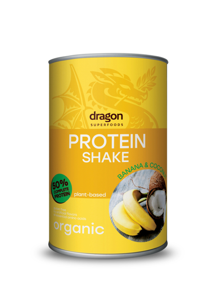 Dragon Protein SHAKE banana-coconut